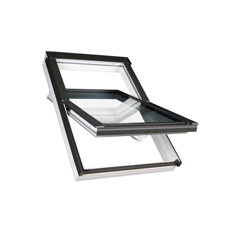 fen tre de toit projection rotation pvc fakro fenetresdetoit. Black Bedroom Furniture Sets. Home Design Ideas
