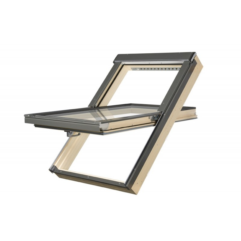 fenetre de toit rotation pvc fakro fenetresdetoit. Black Bedroom Furniture Sets. Home Design Ideas