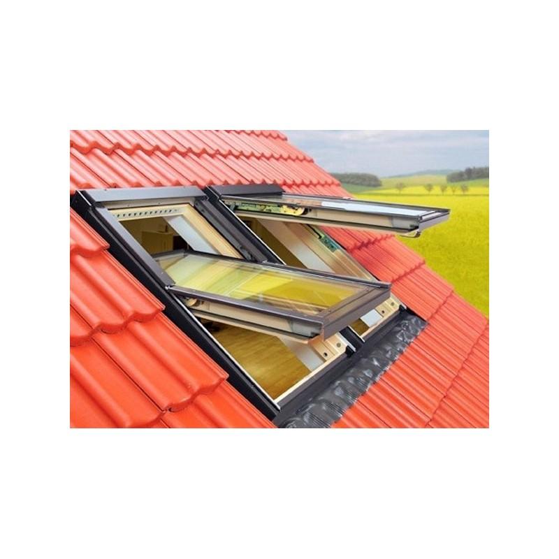 Fen tre de toit projection rotation standard fakro fenetresdetoit for Dimension fenetre de toit standard