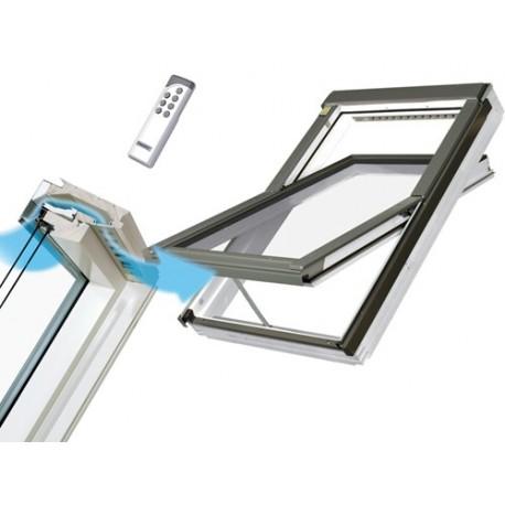 Fenêtre de Toit Rotation Electrique Spéciale Pièces Humides  FAKRO