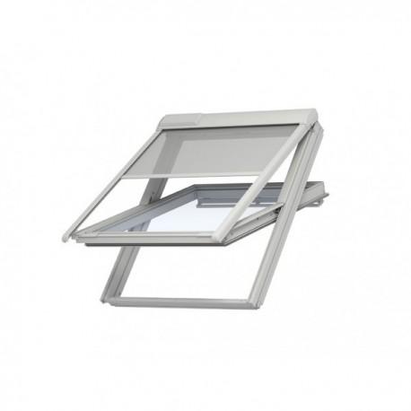 le store ext rieur pare soleil version solaire velux fenetresdetoit. Black Bedroom Furniture Sets. Home Design Ideas
