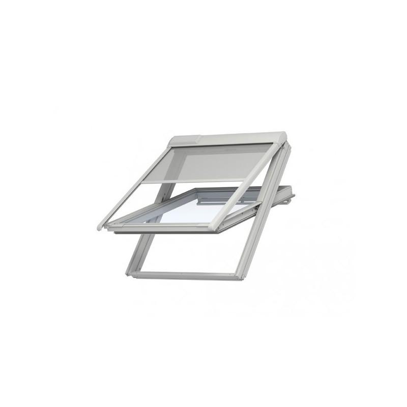 le store ext rieur pare soleil version solaire velux. Black Bedroom Furniture Sets. Home Design Ideas